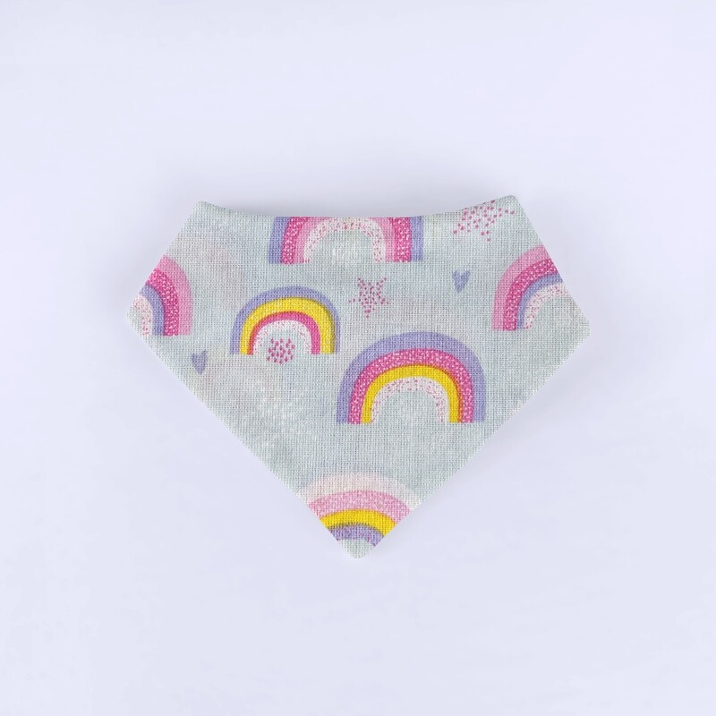 Rainbows Bandana Bib