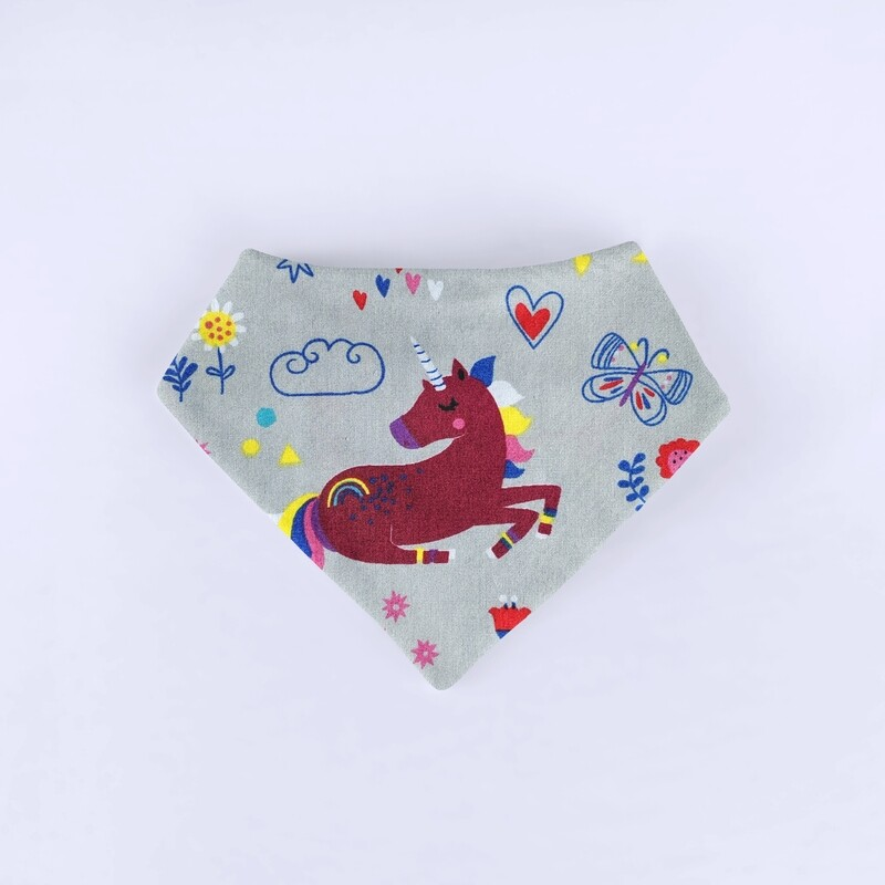 Unicorns Bandana Bib