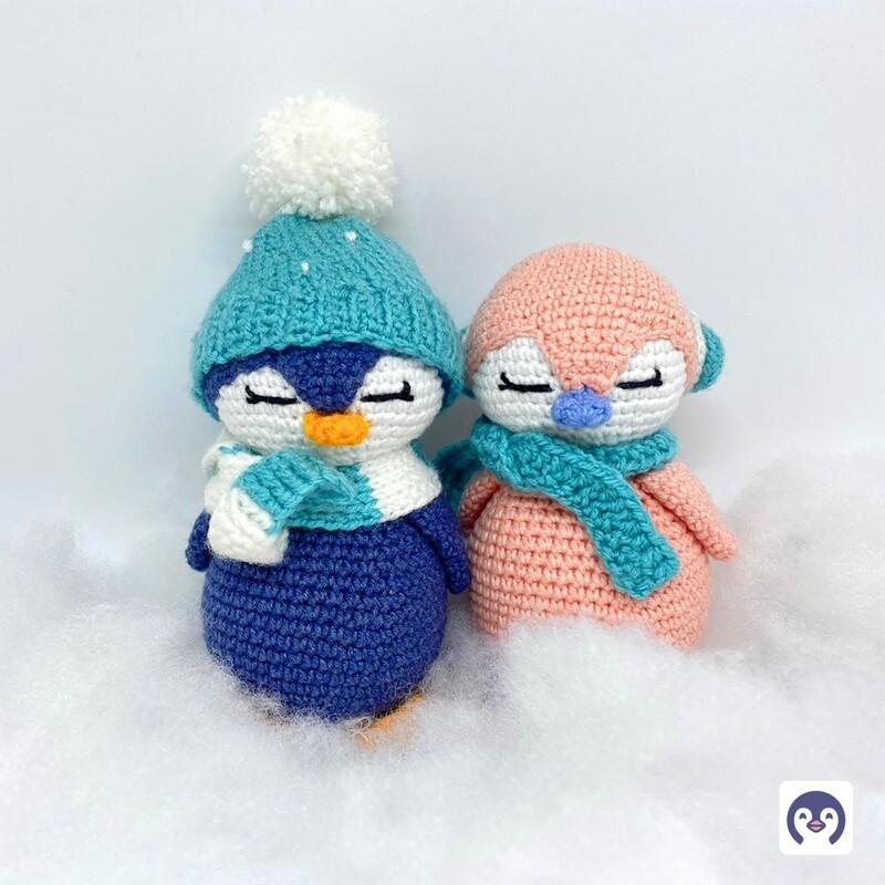 Winter Penguin Crochet Toy (Each)