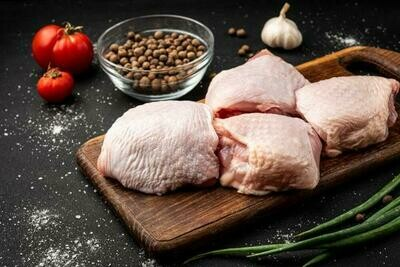 Fresh Chicken Thighs Bone In & Skin On 10 pieces