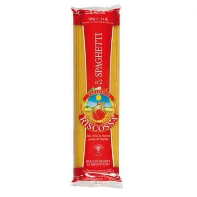 Spaghetti Riscossa 500g