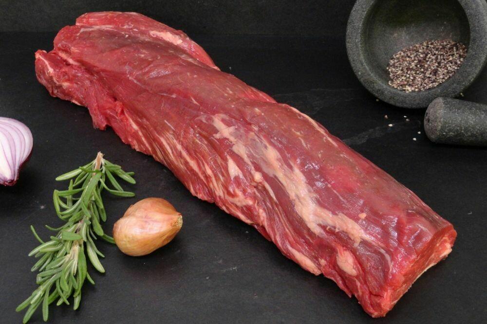 Whole Prime Grass-Fed Beef Fillet 2.7-3kg