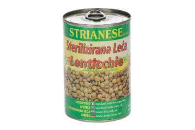Green Lentils 400g Tin