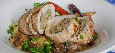 Turkey Paupiettes with wild mushroom stuffing (4x220-240g)