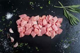 Diced Pork Shoulder 1kg