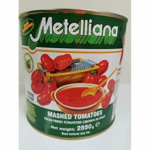 Passata Mashed Tomatoes 2.55kg