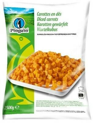 Diced Carrots 1kg