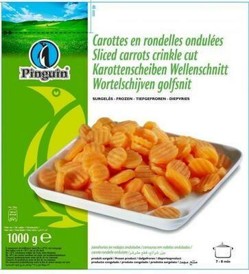 Sliced Carrots 1kg