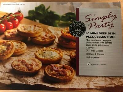 Mini Deep Dish Pizza Selection 60x28g