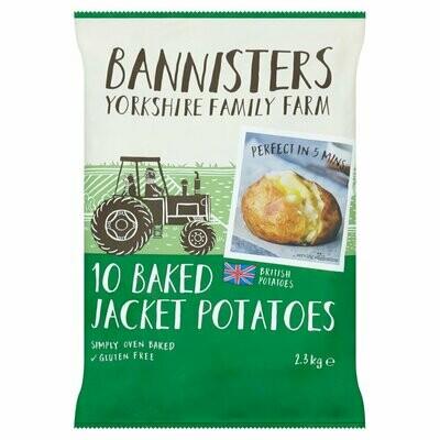 Bannisters Baked Jacket Potatoes