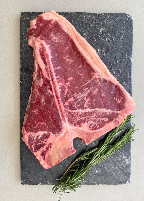 Dry Aged Grass-Fed T-Bone Steak