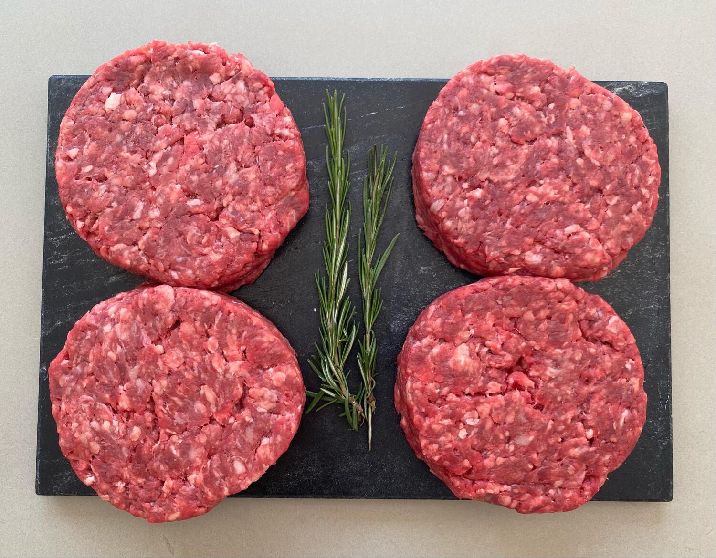 Premium British Beef Burgers (4x200g)