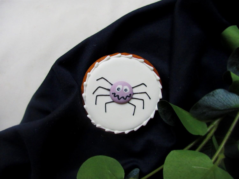 """""""Хэллоуин. Паук"""", имбирный пряник"""