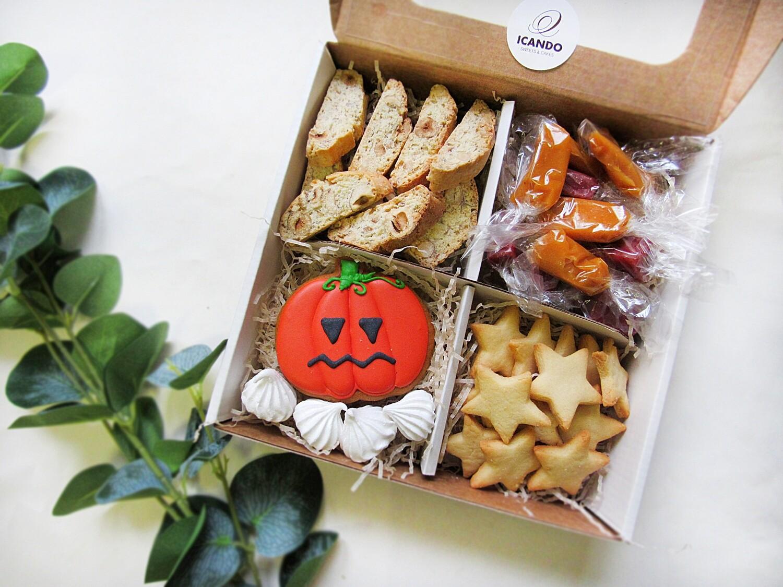 """Хэллоуин №4"", сладкий подарочный набор"