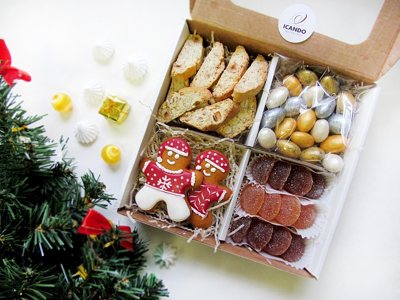 """""""Подарок на Новый год №2"""", сладкий подарочный набор (стандарт)"""