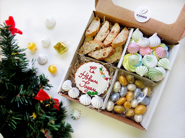 """""""Подарок на Новый Год №1"""", сладкий подарочный набор (стандарт)"""