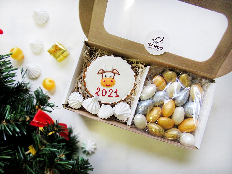 """""""Новогодний подарок №2"""", сладкий подарочный набор (мини)"""