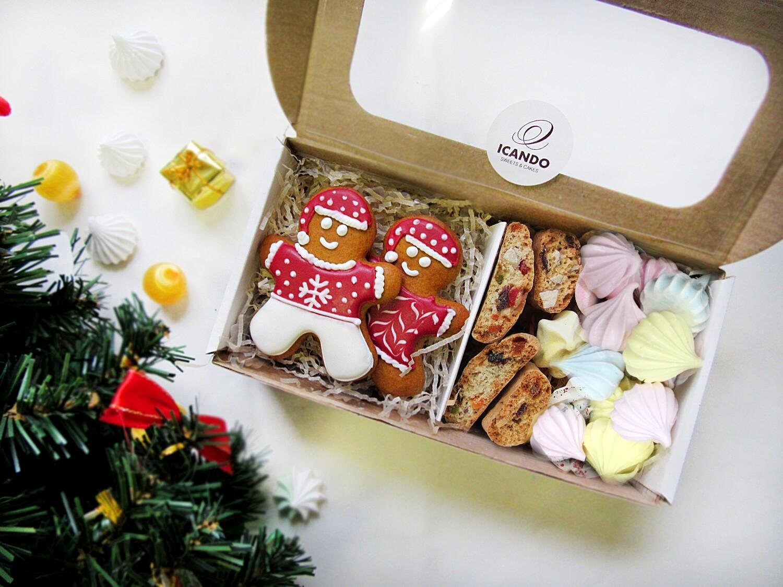"""""""Новогодний подарок №3"""", сладкий подарочный набор (мини)"""