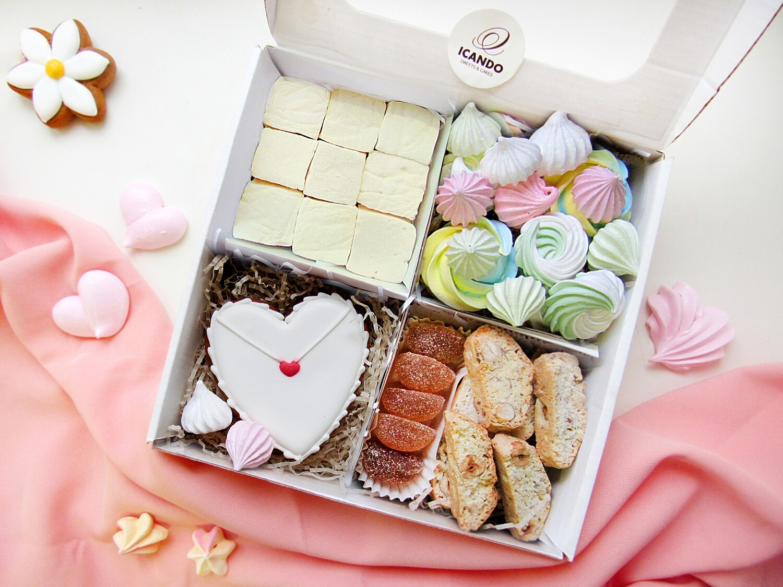 """""""Любовное Письмо №2"""", подарочный набор сладостей"""