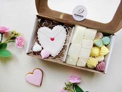 """""""Для Влюбленных №3"""", сладкий подарочный набор"""