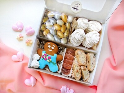 """""""Милой Даме"""", подарочный набор сладостей для женщины"""