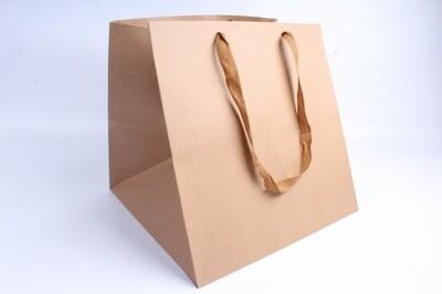 Подарочный пакет Крафт 34х34х34 см
