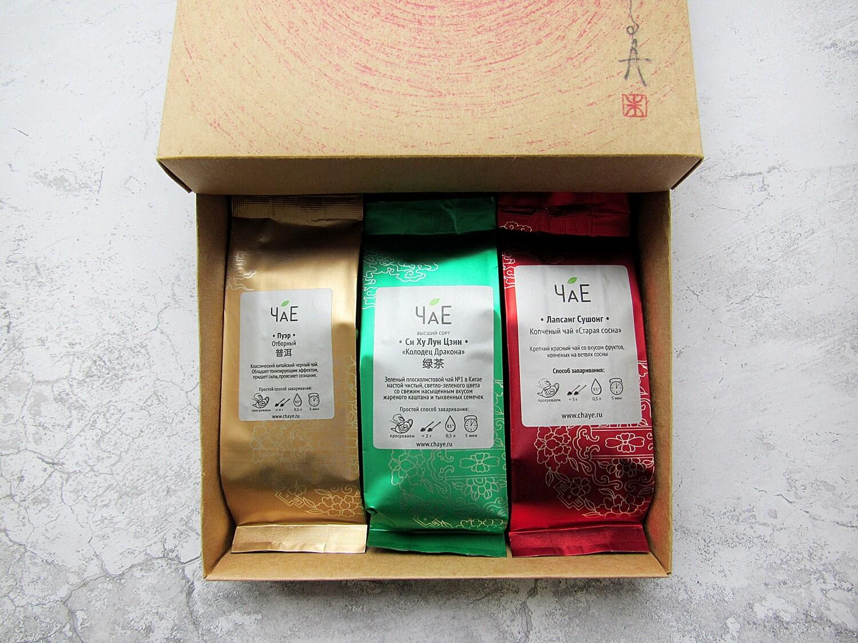 Чайный подарочный набор Элитный