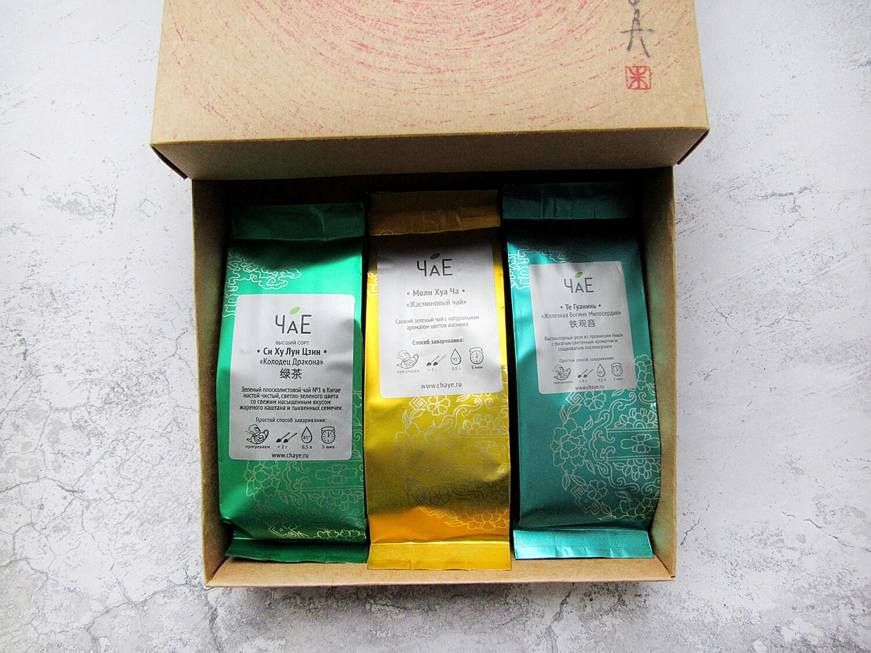 """""""Чайный Зелёный"""", подарочный набор"""