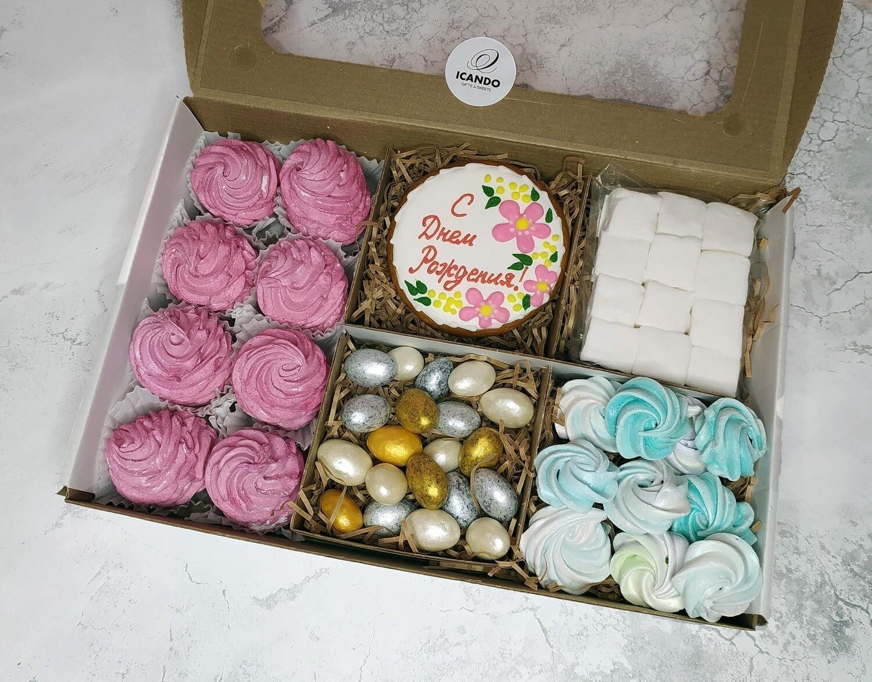"""""""На День Рождения"""" №3, подарочный набор сладостей"""