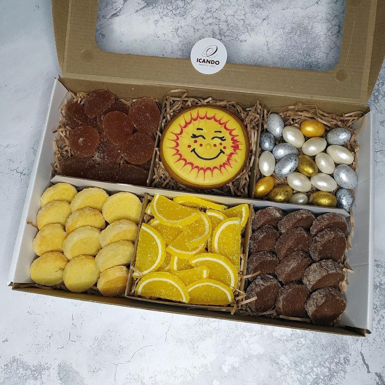 """""""Солнечный"""" №3, подарочный набор сладостей для детей"""