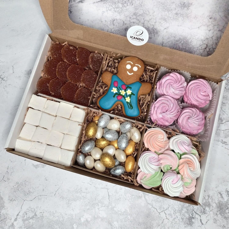 """""""Один Прекрасный День"""" №3, подарочный набор сладостей для женщины"""
