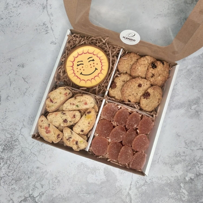 """""""Солнечный"""" №2, подарочный набор сладостей для детей"""