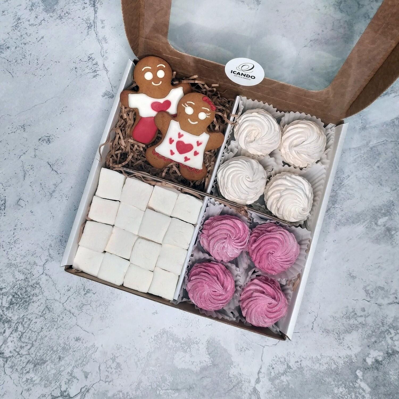 """""""Сладкая Парочка"""" №2, подарочный набор сладостей"""