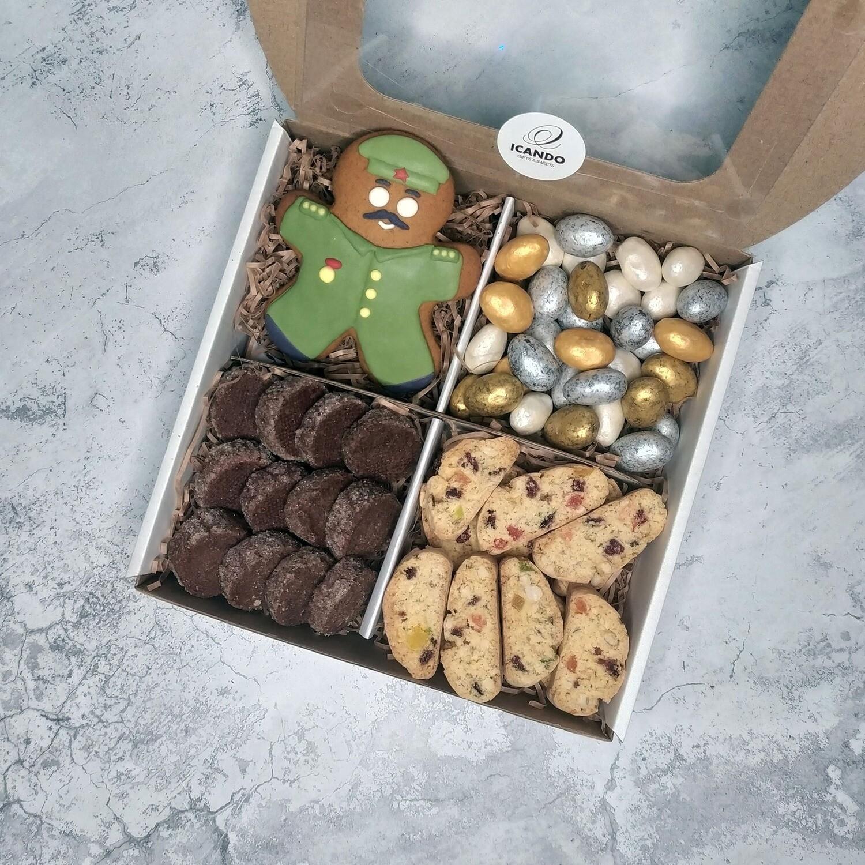 Моему Защитнику 2, подарочный набор сладостей для мужчины