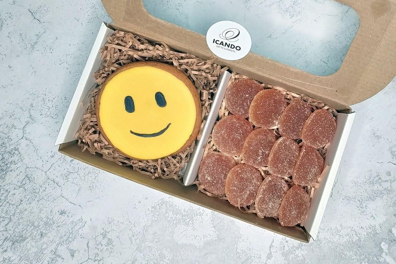 """""""Смайлик"""" №1, подарочный набор сладостей для детей"""