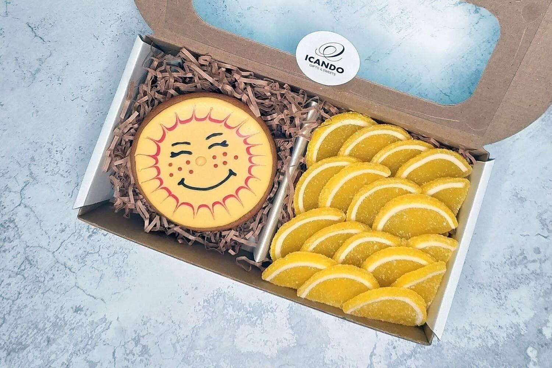 """""""Солнечный"""" №1, подарочный набор сладостей для детей"""