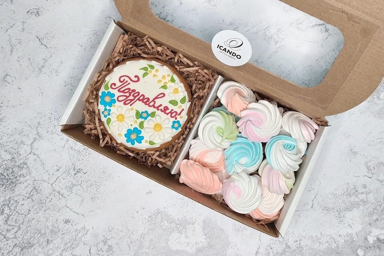 """""""Поздравляю!"""" №1, подарочный набор сладостей"""