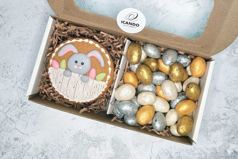 """""""Добрый Кролик"""" №1, подарочный набор сладостей для детей"""