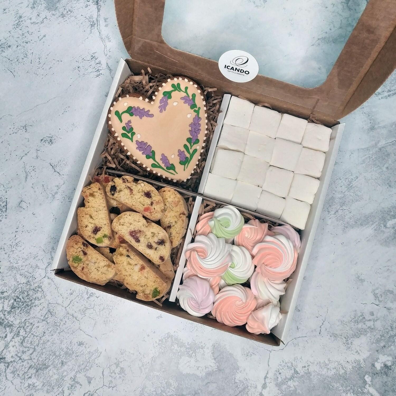 Тёплое Сердце 2, подарочный набор сладостей