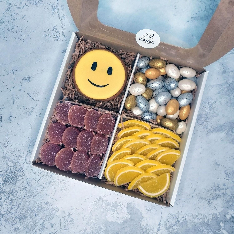 """""""Смайлик"""" №2, подарочный набор сладостей для детей"""