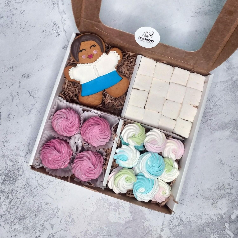 """""""Учителям"""" №2, подарочный набор сладостей для детей"""