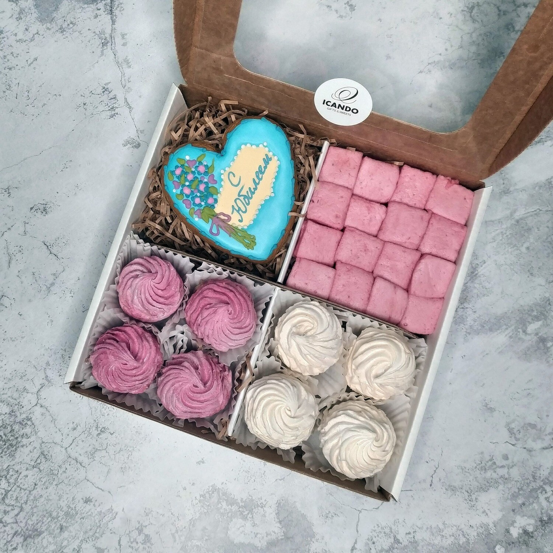 """""""С Юбилеем"""" №2, подарочный набор сладостей"""