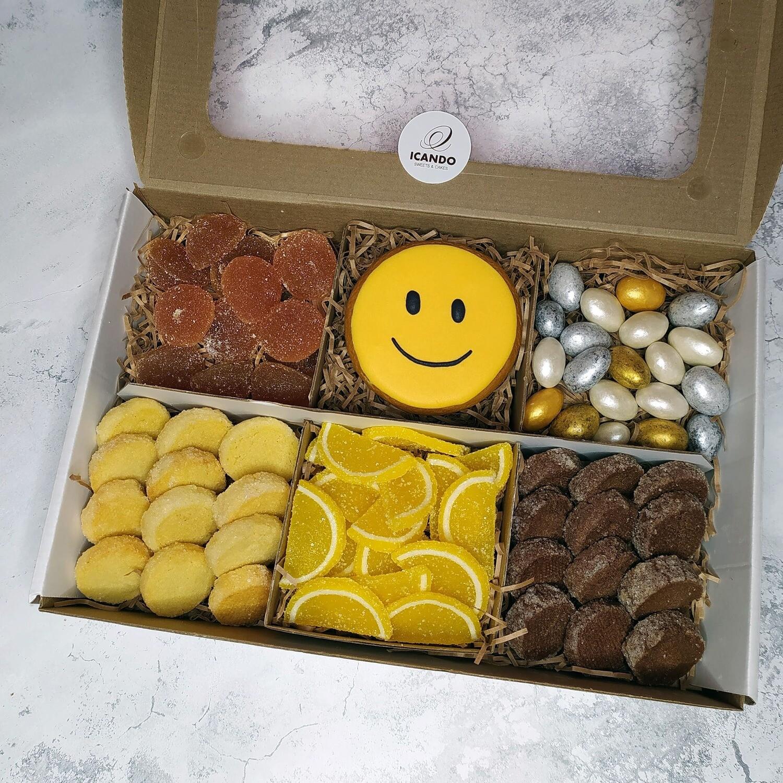 """""""Смайлик"""" №3, подарочный набор сладостей для детей"""