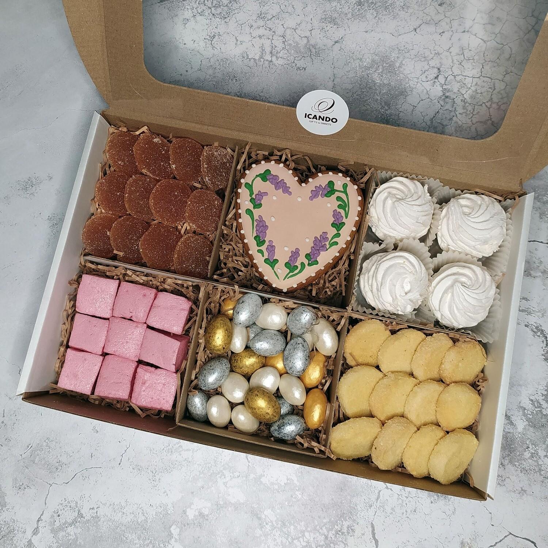 """""""Тёплое Сердце"""" №3, подарочный набор сладостей"""