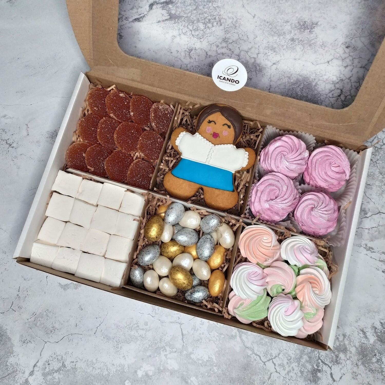 """""""Учителям"""" №3, подарочный набор сладостей для детей"""