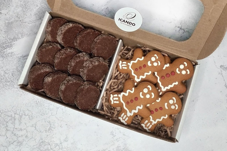 """""""Печенье Какао, Имбирные Пряники"""", коробка набор сладостей"""