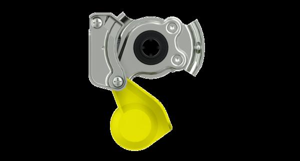 Наконечник желтый с клапаном