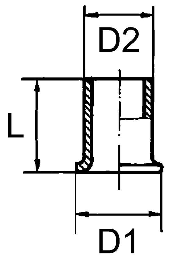 Ниппель 12х1,5