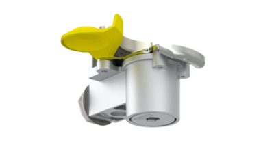 Наконечник желтый с фильтром для прицепа KU1410