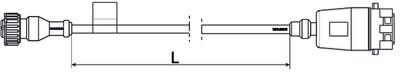 Кабель TЕБС D  для внешнего датчика давления